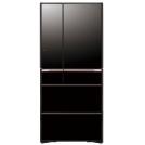 Холодильник HITACHI R-G 690 GU XK черный кристалл
