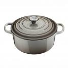 Le Creuset Round Dutch oven 24 cm, cast iron, colour: nutmeg