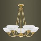 Chandelier Kutek Rovato, for 5 light bulbs, patina, 680х760, ROV-ZW-5(P)