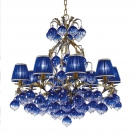 Chandelier Stillux (Italy) 4101/8-BB Ampoulle