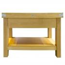 Традиционный сервировочный столик Chabret BILIT120601085,120*60*90 см, с разделочной доской толщиной 10 см,