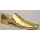 Ботинок левый Принц и золушка золото Rudolf Kampf 2249k