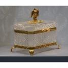 """Шкатулка для драгоценностей """"Шахерезада"""" Cristallerie de Montbronn"""