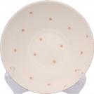 F466800328D0492 Пиала, ваниль, орнамент - розовые цветы