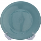 F47000118300000 Dinner plate, turquois colour