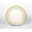 Dinner plate, Haviland & C.Parlon, Arc en ciel, dusty pink, 27.5  cm.