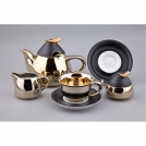 Tea set with teapot, Rudolf Kampf 1.2 l, 15 items, for 6 people, Kelt collection, 251Ak