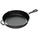 Round Grill pan with two handles Lodge L8GP3