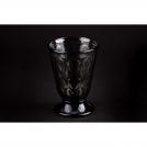 Stem glass La Rochere, colour: antracite, LYONNAIS collection, glass