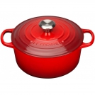 Le Creuset Round Dutch oven 18 cm, cast iron, colour: cherry