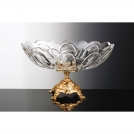 Ваза в виде кубка Монтэнь Cristallerie de Montbronn Montaigne CL