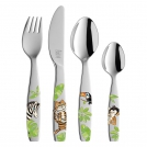 Kitchenware ZWILLING 07135-210 Children's cutlery set Jungle, 4 items