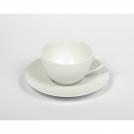Чашка для кофе с блюдцем Medard de Noblat, сания, матовая, 115 мл.