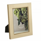 Photo frame 13x18 Vera Wang Gifts and Accessories, silver plated, gold colour Wedgwood, metal, glass, cardboard