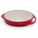Le Creuset Tatin dish 25 cm, cast iron + enamel, colour: cherry