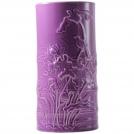 Ваза Бамбук Gien, Цветные эмали, аметистовый, H 25 см.