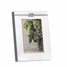Photo frame Vera Wang Infinity, 10x15, silver plated metal, glass, cardboard, Wedgwood