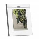 Фоторамка Вера Ванг Инфнити, 13х18 см, посеребрение Wedgwood, металл,стекло, картон
