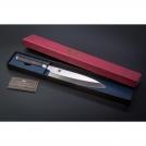 "Deba KAI Knife, Shun Pro series, blade 8.25/ 21 cm, handle 12,2 cm."""