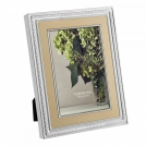 Photo frame Vera Wang With Love Nouveau, 13x18, silver plated, gold colour Wedgwood, metal, glass, cardboard