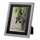Photo frame Vera Wang With Love Nouveau, 20x25, black enamel + silver plated Wedgwood, metal, glass, cardboard
