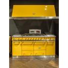 Плита Lacanche Cluny 1800 LG1852CT с вытяжкой L2H2000 желтый прованс